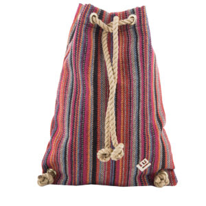 Dourvas Boho Backpack Red